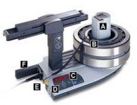 A Индукционная катушка расположена вне корпуса нагревателя.